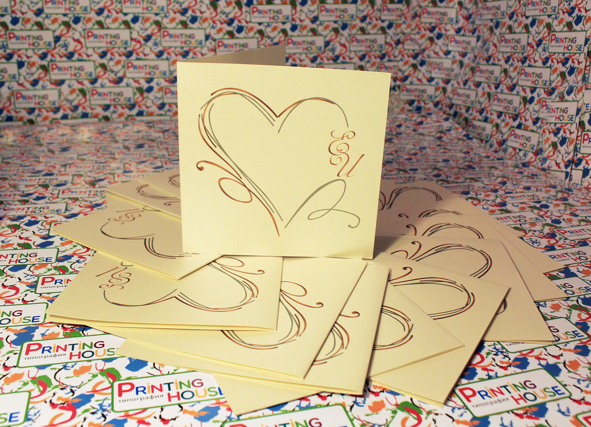 как напечатать открытку на картоне то, что